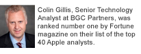 Colin Gillis, Senior Technology Analyst at BGC Partners, was ranked number one by Fortune magazine on their list of the top 40 Apple analysts